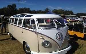 Classic VW Kombie Van